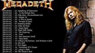 Megadeth Greatest Hits || Best Songs Of Megadeth