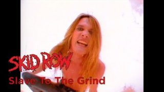 Skid Row – Slave To The Grind (Official Music Video)
