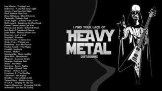 Iron Maiden , Metallica , Helloween , Black Sabbath – Heavy Metal Rock And Roll Songs